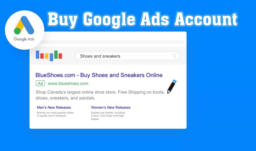 Buy Google Ads Account from Us