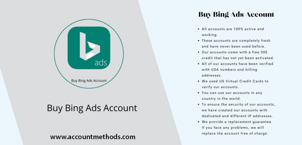 Bing Ads Account for Sale